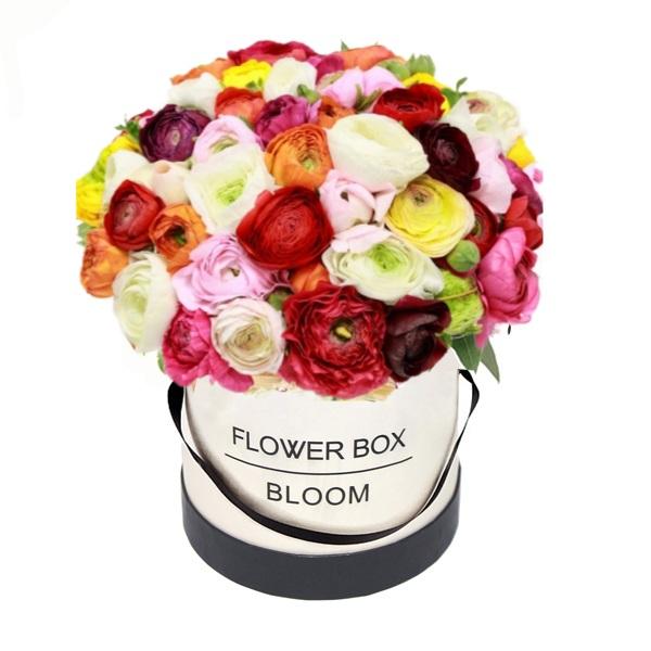 קופסאת פרחים-נוריות